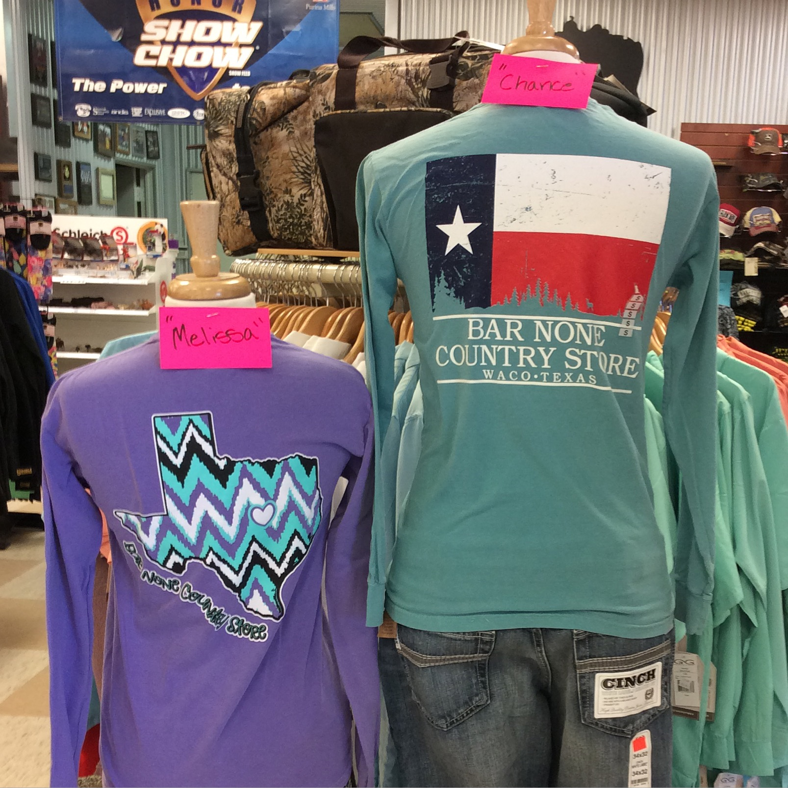 Country clothing stores