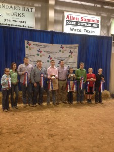 Crawford FFA show team