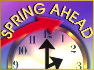 daylight savings time begins spring forward