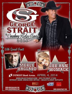 Strait concert poster
