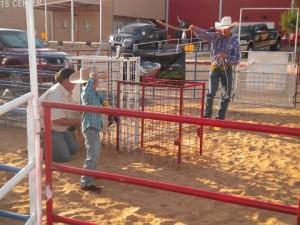 goat roping