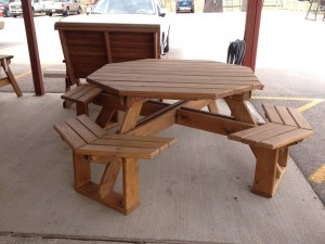 octagon table patio