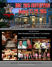 2015 deer breeders corporation convention