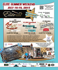 full flyer for elite barrel race 2015
