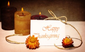 Thanksgiving day holiday greeting card
