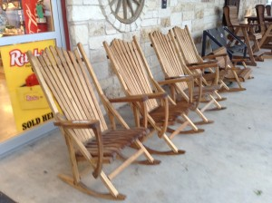 plum creek rocker