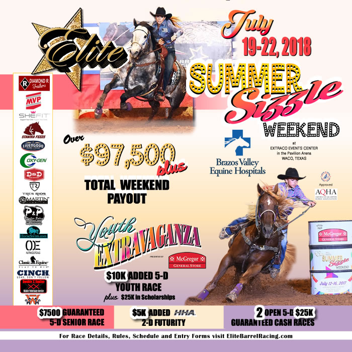 elite barrel racing youth 2018