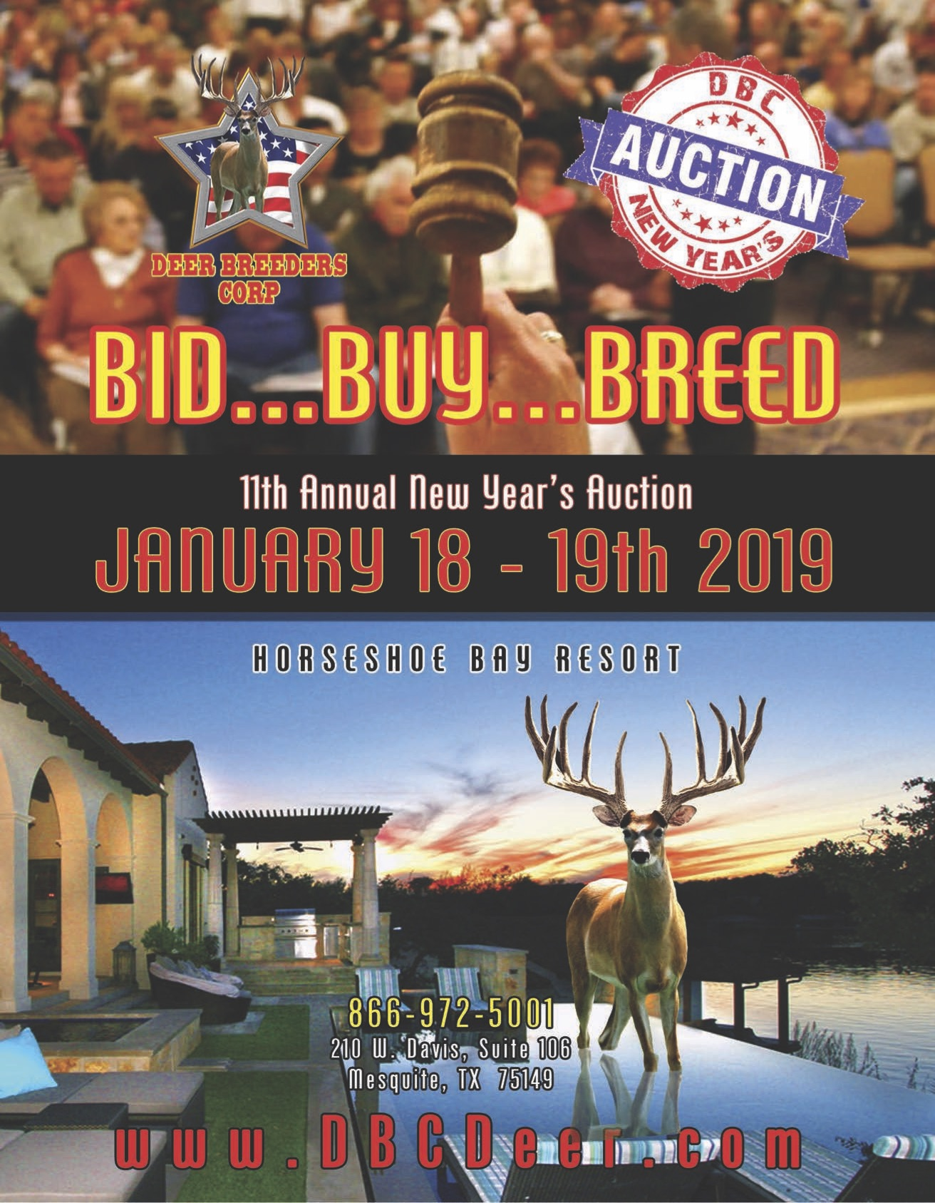 Deer Breeders Corp: New Year's Auction - Bar None Country Store