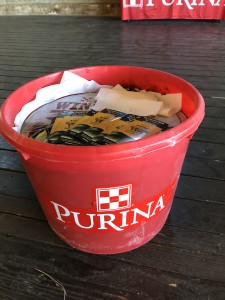 purina mineral tub