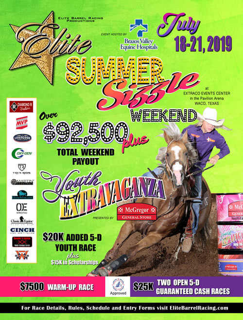 elite barrel racing elite youth extravaganza