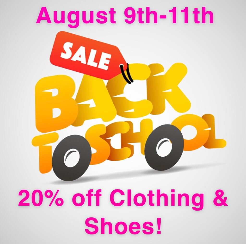 texas tax-free weekend back to school sale