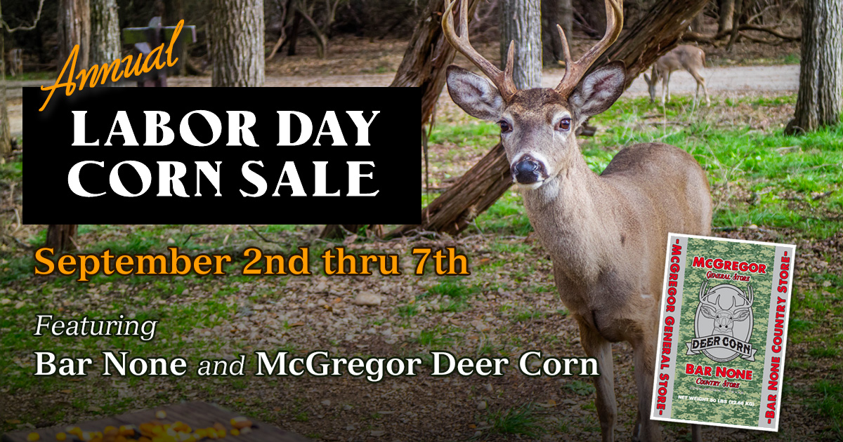 labor day corn sale