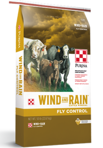 wind and rain purina fly control mineral